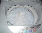6.洗濯機にすっぽり収まります